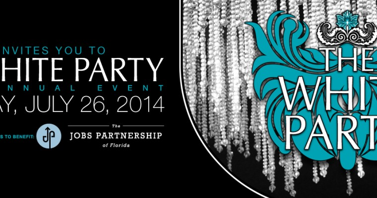 GWT White Party 2014 Web Banner